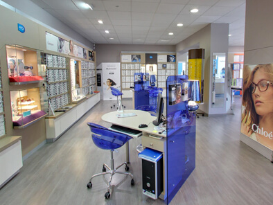visite virtuelle opticien